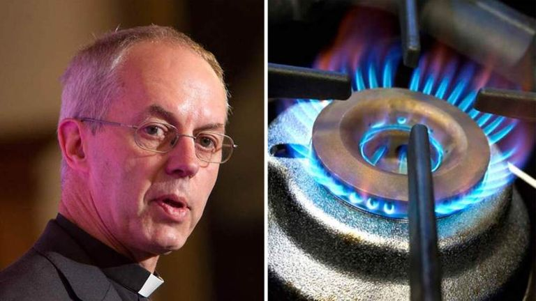 Justin Welby energy comments composite