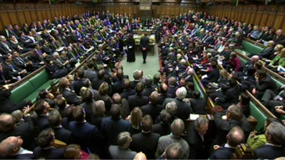 MPs vote on tuition fees in the House of Commons