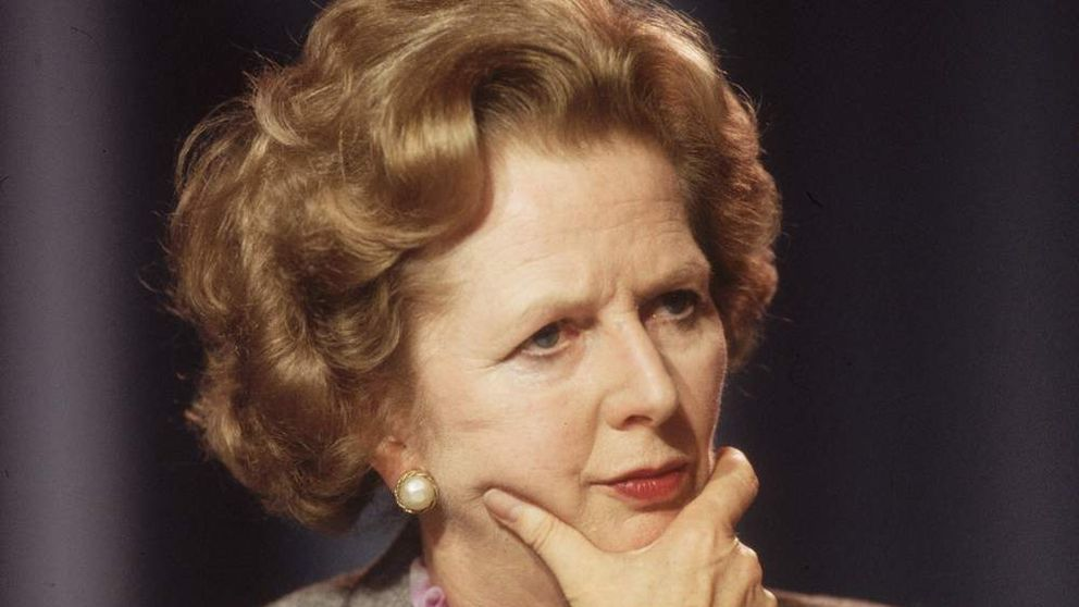 Margaret Thatcher in 1985