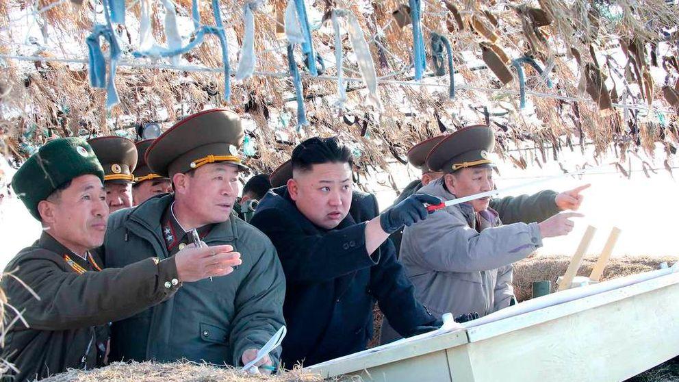 North Korean leader Kim Jong-Un on military visit