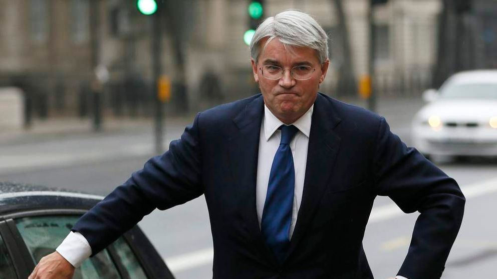 Andrew Mitchell in Whitehall