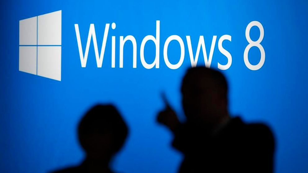 People arrive at the launch event for Microsoft Windows 8 operating system in New York, October 25, 2012.