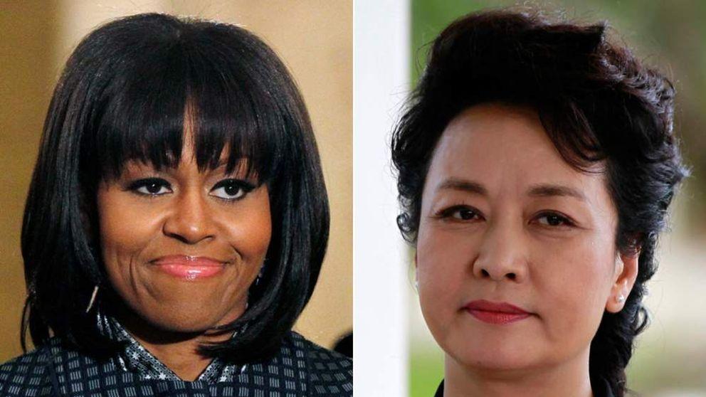 Michelle Obama and Peng Liyuan