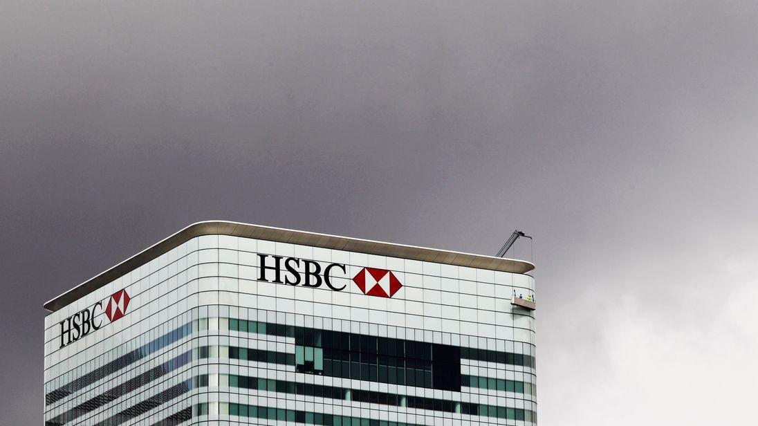 HSBC posts surprise fall in quarterly profits