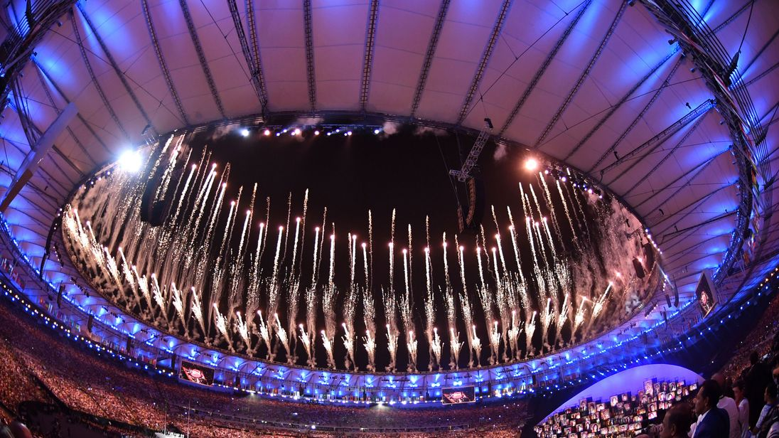 The Olympic Games open in Rio