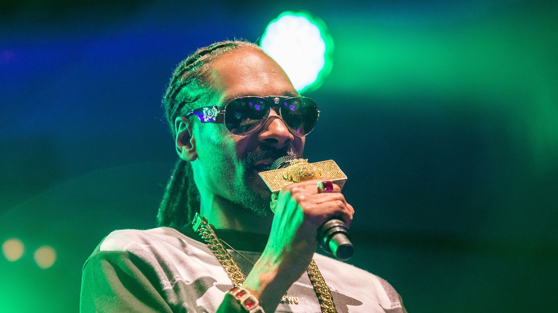 Snoop Dogg was performing at the gig in New Jersey alongside Wiz Khalifa