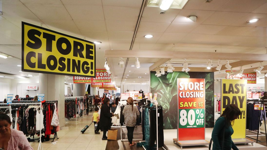 The last remaining BHS stores are expected to close this weekend, with the doomed retailer set to disappear from the high street entirely by Sunday.