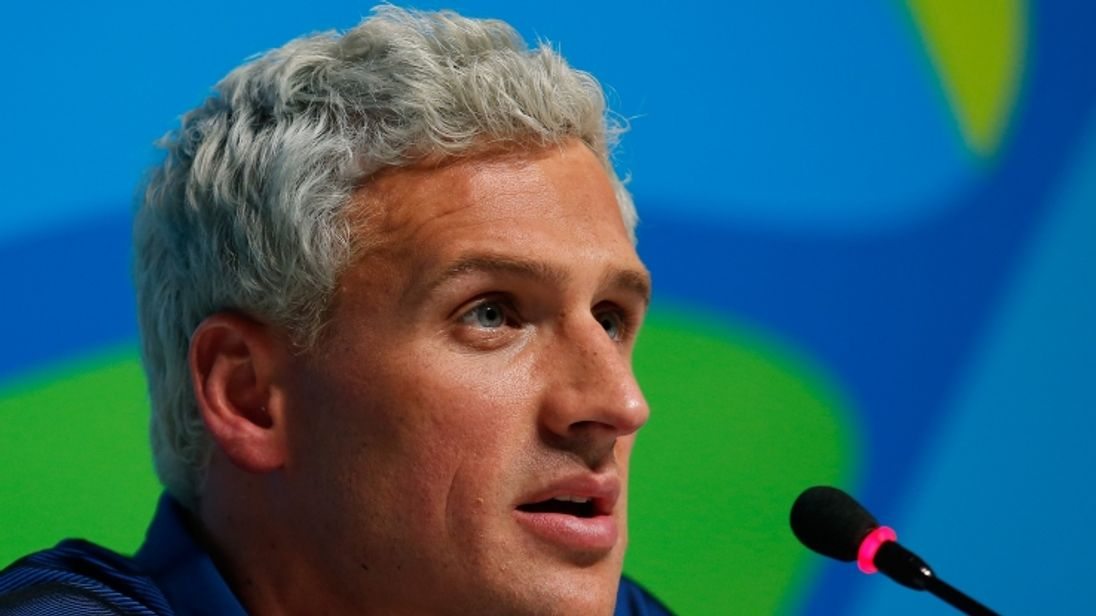 Ryan Lochte has been charged with filing a false robbery report