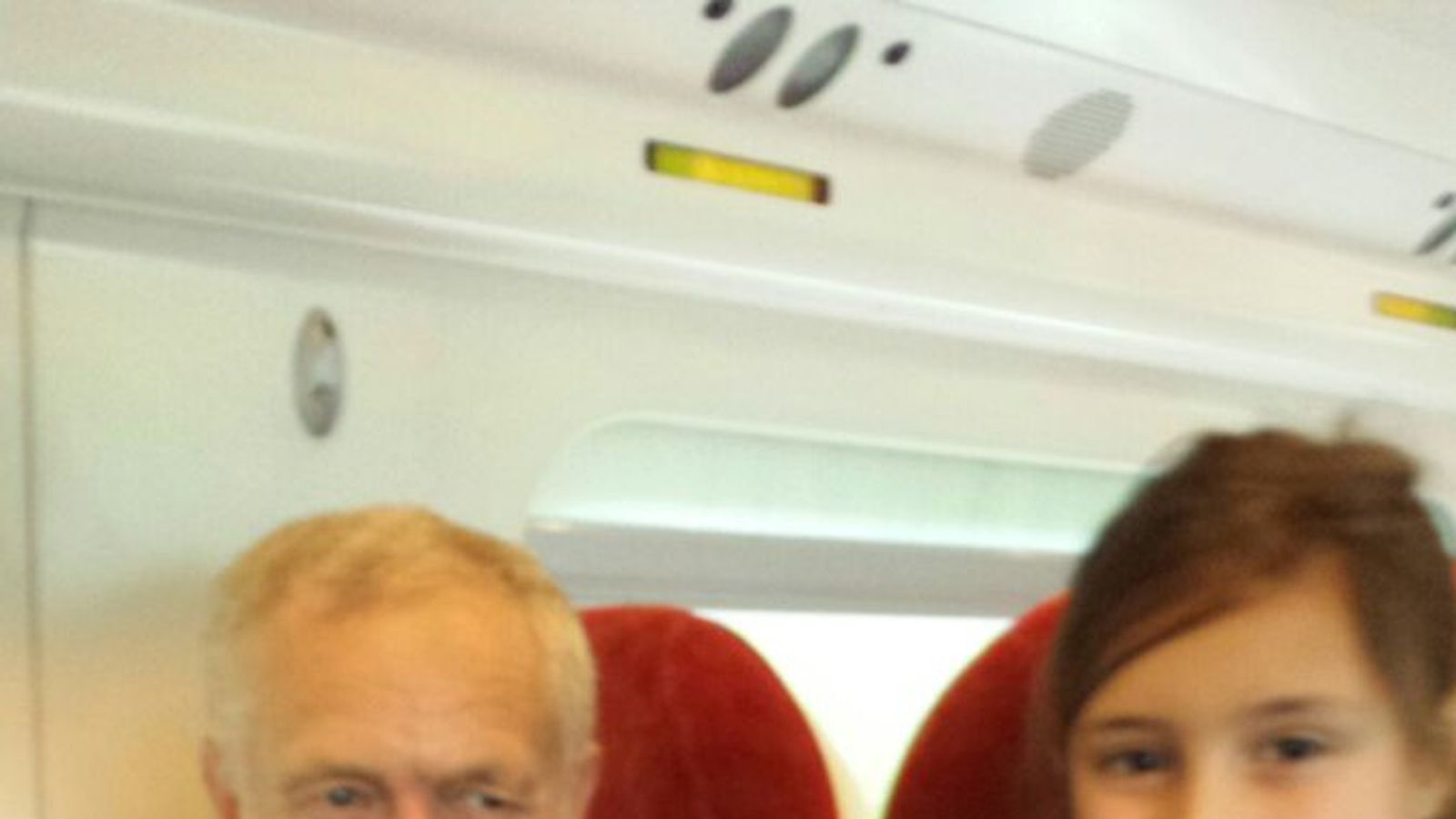 jeremy corbyn back on virgin train  but did he find a seat