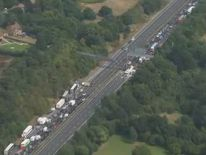 "Kent Police has warned that traffic ""will be heavier than usual"""