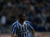 Atkinson in action for Real Sociedad in a 3-2 victory over Real Madrid