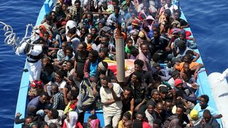 Over 70,000migrants were rescued this year crossing from Libya to Europe.