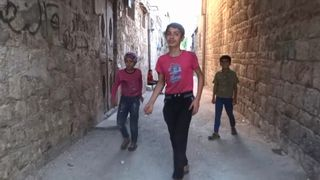 For children in Aleppo air strikes are part of 'normal' life