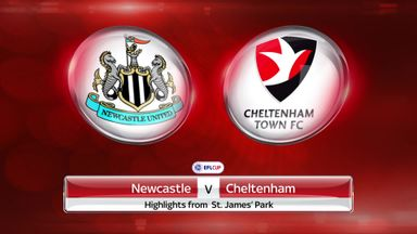 Newcastle 2-0 Cheltenham