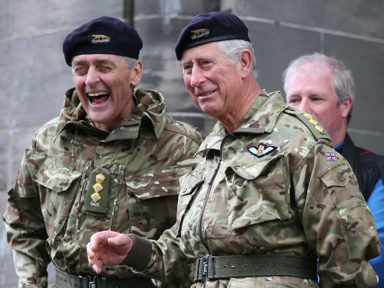 The Duke of Westminster was a friend of Prince Charles
