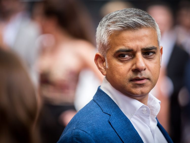Sadiq Khan, Mayor of London, says Article 50 should be delayed