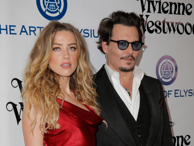 Depp 'as low as could be' after Amber Heard split