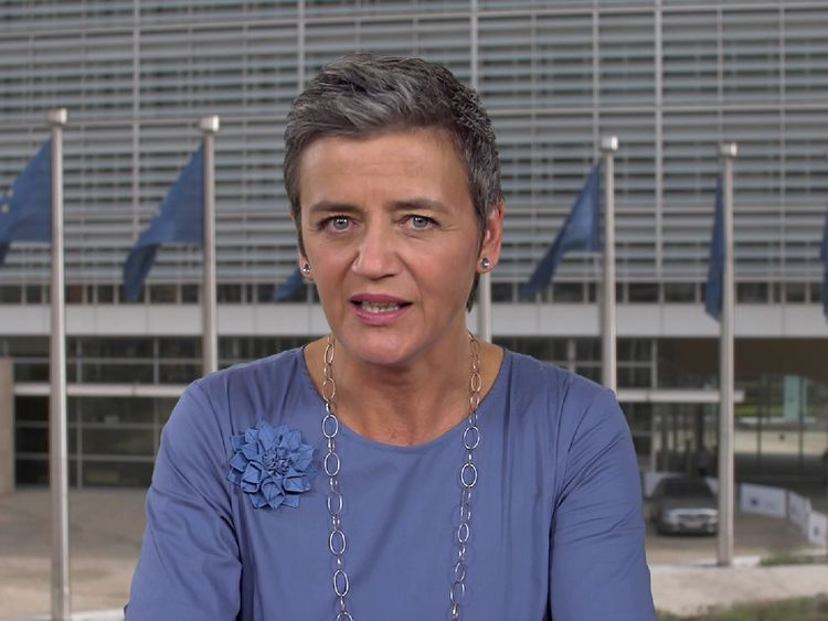 Margrethe Vestager is the European Commissioner for Competition