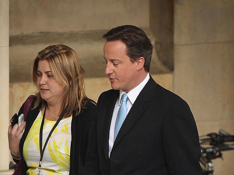 Liz Sugg was another key member of David Cameron's team in Downing Street