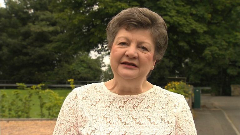 Lin MacMillan campaigns on behalf of BHS pension scheme members