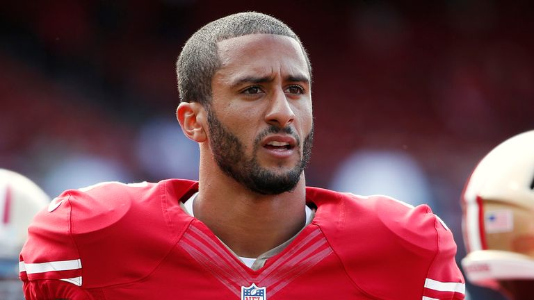 Colin Kaepernick said he was prepared to be criticised over his protest