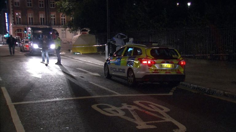One woman in her 60's died in the attack and five others were injured