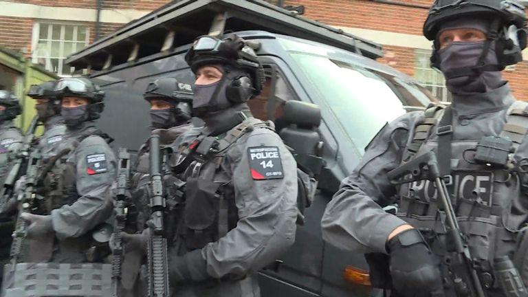 Metropolitan Police counter-terrorism armed response officers