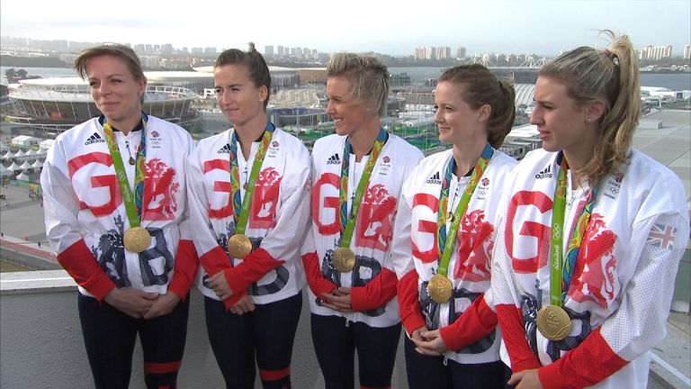 Team GB's victorious women's hockey team: 'The most special day'