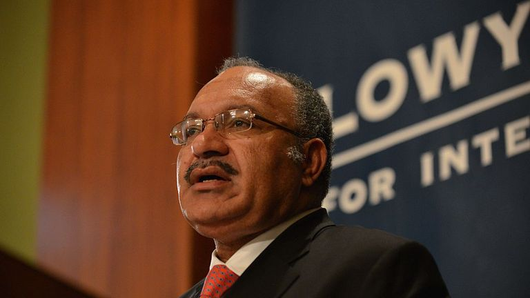 PNG Prime Minister Peter O'Neill says options are being considered. File picture