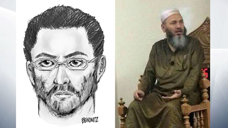 Maulana Akonjee (R) and his assistant were shot dead in Queens, New York
