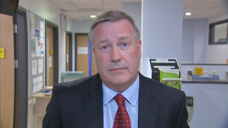 David Allison, Chief Executive, Wirral University Teaching Hospital