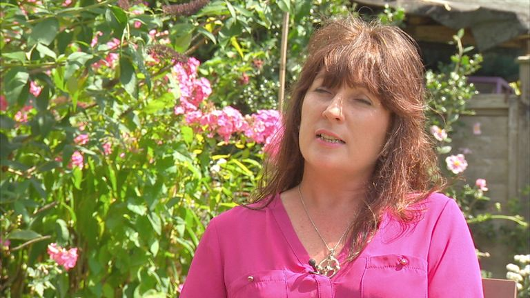 Nic ky Martin, mother of asperger syndrome sufferer Josh Martin