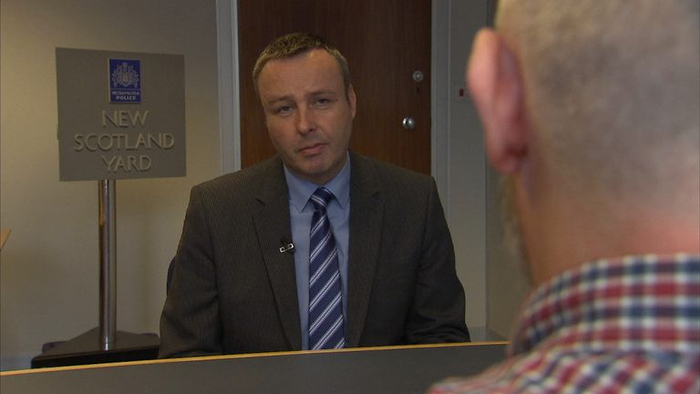A counter-terrorism detective speaks to Sky News' Mark White