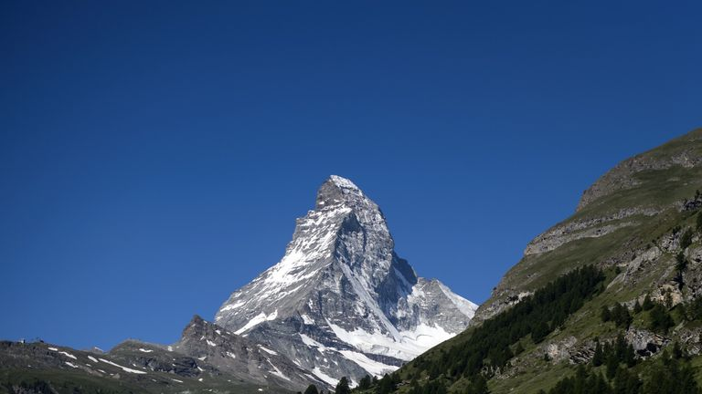 Two climbers have been killed on the Matterhorn. File picture