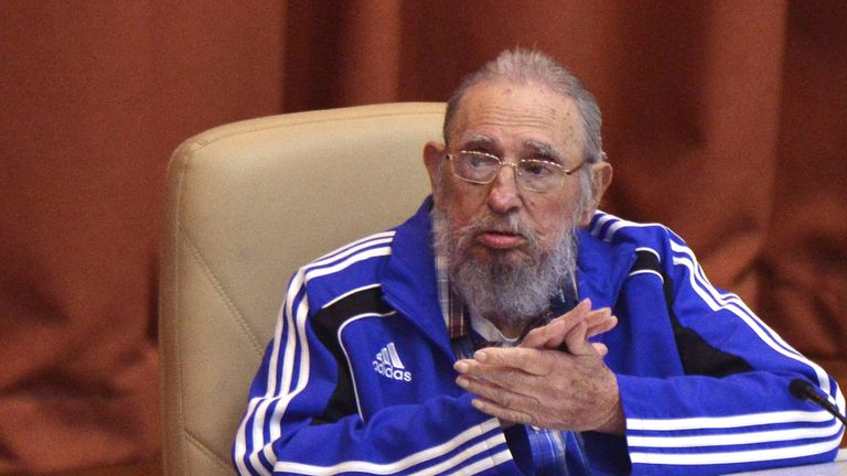 Mr Castro stepped down as president in 2006 due to ill health