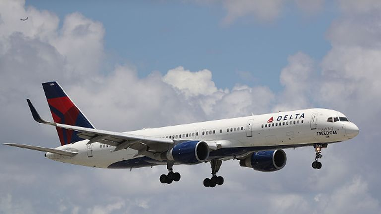 Delta flights scheduled for departure are not taking off
