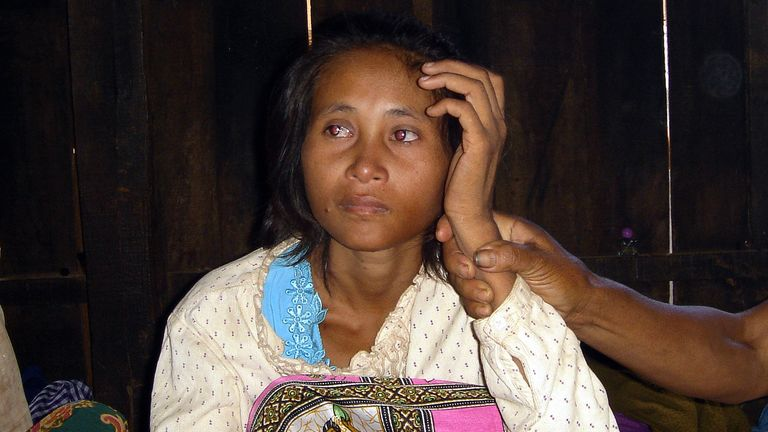Rochom P'ngieng is believed to have spent some 18 years living in the jungle