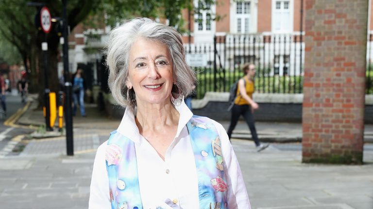 Maureen Lipman attends the Vamos Cuba! VIP evening at Sadler's Wells Theatre in London