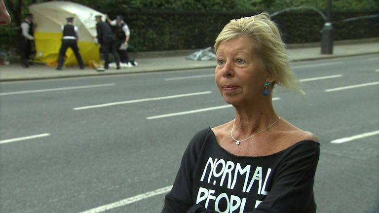Philippa Bagley witnessed the Russell Square attack