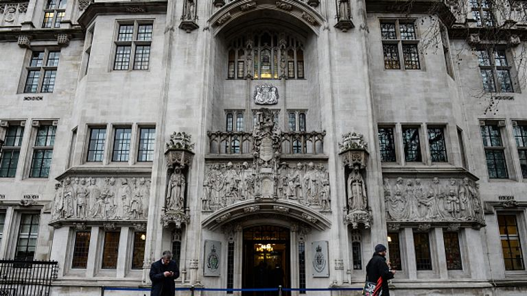 The legal action could end up in the Supreme Court in London