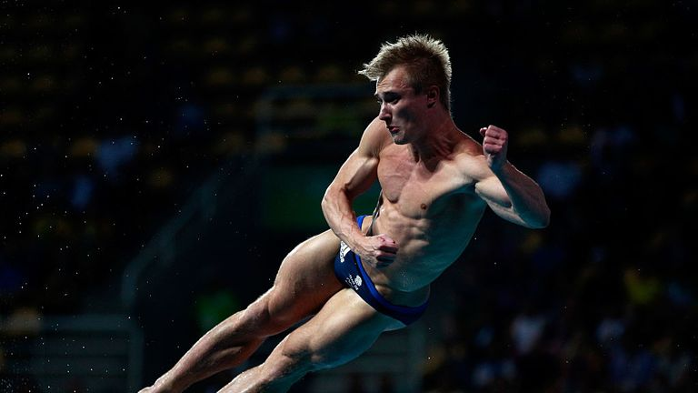 Jack Laugher won silver in the three metres springboard