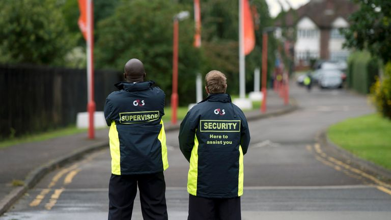 G4S says it has been approached by Labour officials earlier this week