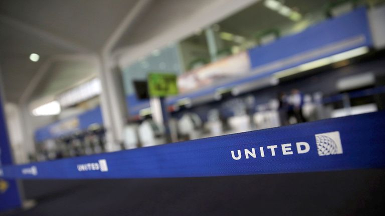 """United Airlines said it was providing """"care and support"""" for passengers and crew members"""