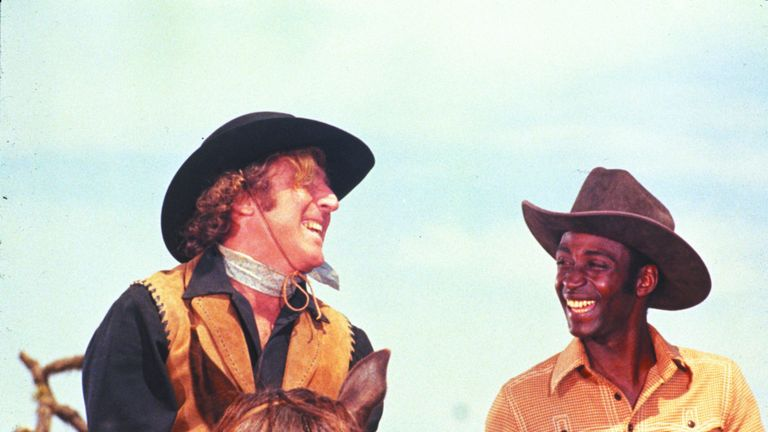 Gene Wilder and Cleavon Little