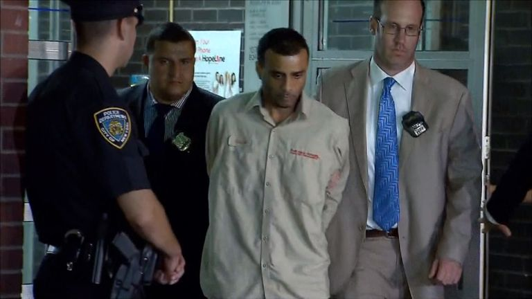 Oscar Morel is accused of killing the imam and his assistant