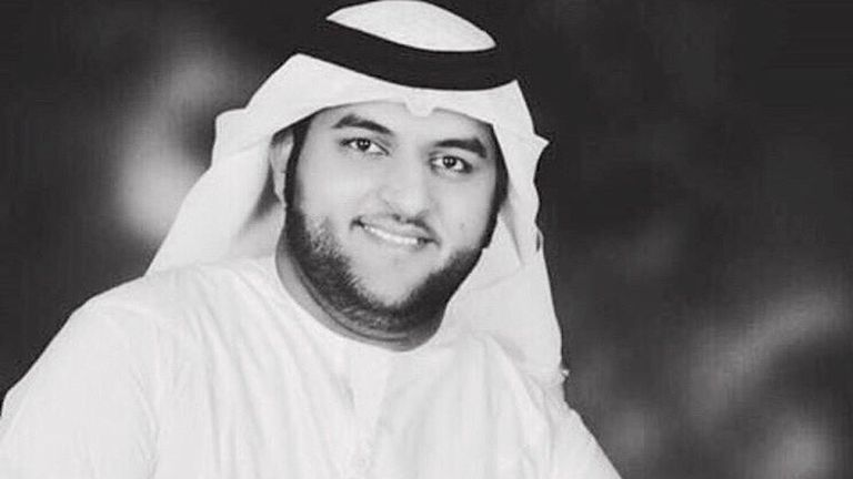 Firefighter Jassim Eissa al-Baloushi who died trying to put out fire on plane which crash-landed at Dubai Airport