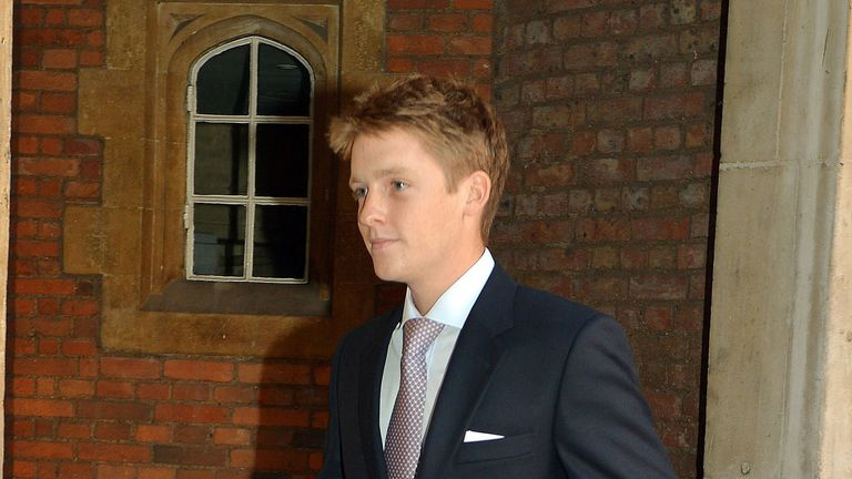 Hugh Richard Louis Grosvenor becomes the seventh Duke of Westminster