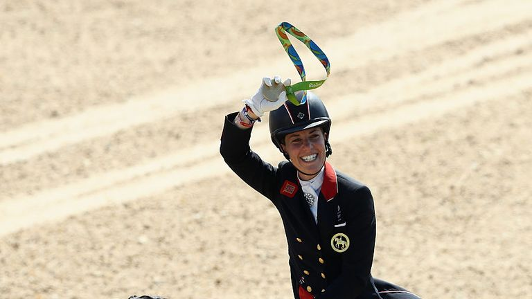 Charlotte Dujardin on horse Valegro