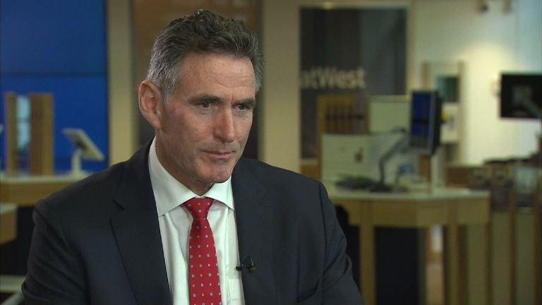Ross McEwan is the chief executive of Royal Bank of Scotland