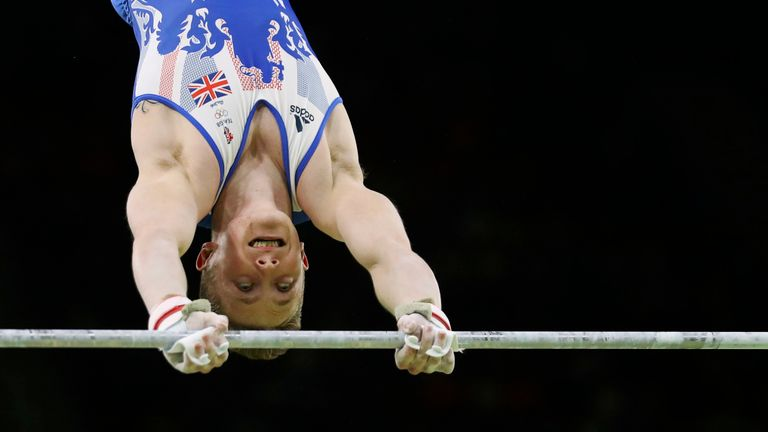 Gymnast Nile Wilson got a bronze medal in the Men's Horizontal bar